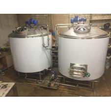 Купить для пива Пивоварня промышленная 300 литров за одну варку AISI 304 (ЦЕНА ПО ЗАПРОСУ).