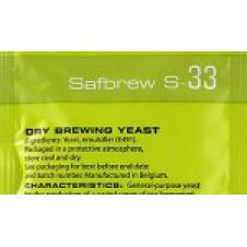 Купить для пива Пивные дрожжи Fermentis Safbrew S-33 (Франция) 11,5 гр.