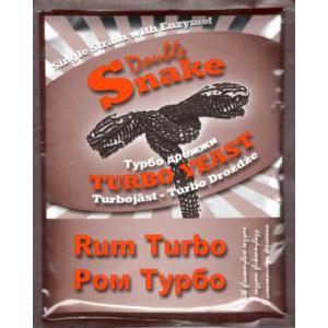 Спиртовые дрожжи DoubleSnake  Rum Turbo ( для рома) , 70 г
