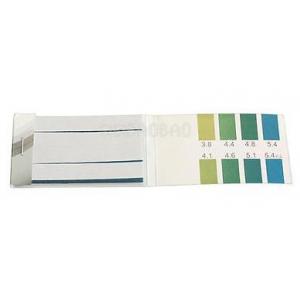 Лакмусовая индикаторная бумага pH 3.84-5.4 80 шт.