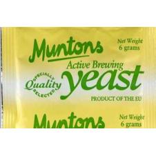 Купить для пива Пивные дрожжи Muntons Standart  (Англия) 6 гр.