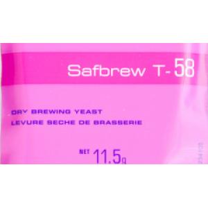 Пивные дрожжи Fermentis Safbrew T-58 (Франция) 11,5 гр.