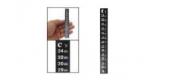 Термометр жидкокристаллический самоклеющийся